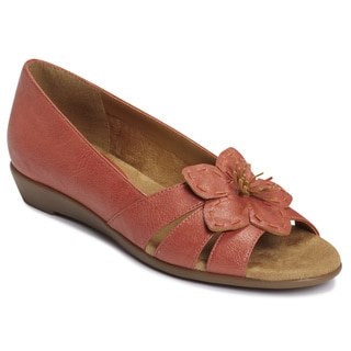A2 by Aerosoles Women's 'Baccarat' Coral Flower Sandals