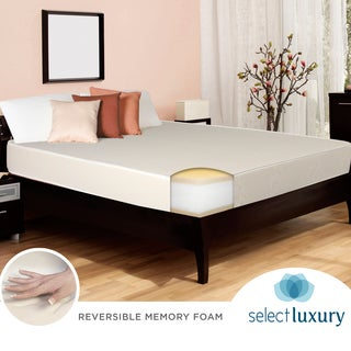 Select Luxury Reversible Medium Firm 10-inch Twin-size Memory Foam Mattress