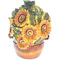 Certified International 'Tuscan Sunflower' 11-inch Cookie Jar