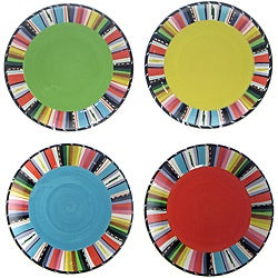 Certified International Santa Fe 8.75-inch Dessert Plate (Set of 4)