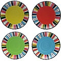 Certified International 'Santa Fe' 10.75-inch Dinner Plates (Set of 4)