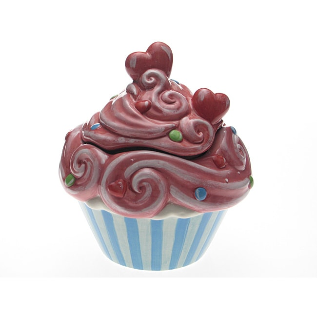 Certified International Cupcake 10.5-inch Cookie Jar