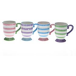 Certified International Cupcake 18-ounce Mugs (Set of 4)