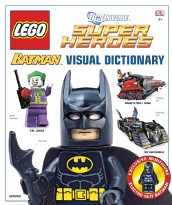 LEGO Batman Visual Dictionary: The Visual Dictionary (Hardcover)