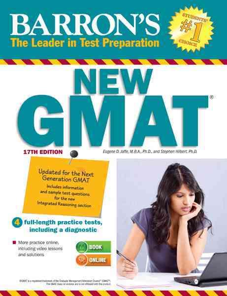 Barron's New GMAT (Paperback)