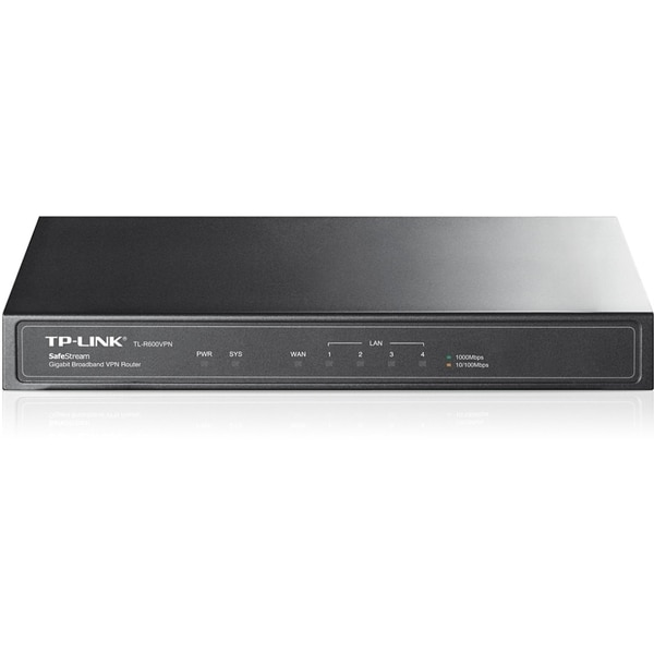 TP-LINK TL-R600VPN Gigabit Broadband VPN Router, 1 Gigabit WAN port +