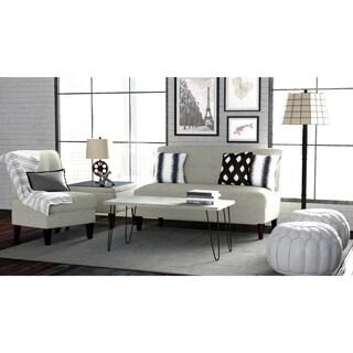 Portfolio Engle Barley Tan Linen 3-piece Sofa Set