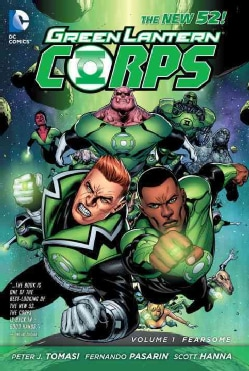 Green Lantern Corps 1: Fearsome (Hardcover)