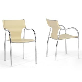 Harris 2-piece Ivory Modern Dining Chair Set