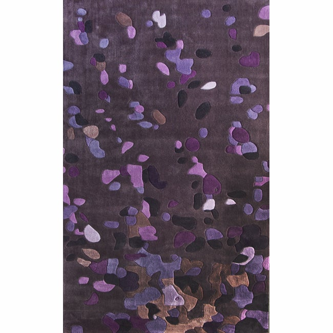 nuLOOM Handmade Pino Purple Celebrations Confetti Burst Rug (6' x 9') at Sears.com