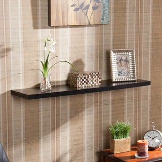 Upton Home Vermont 36-inch Black Floating Shelf