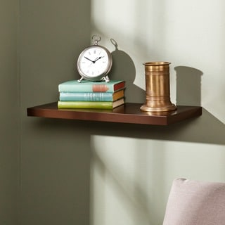 Upton Home Vermont 24-inch Espresso Floating Shelf