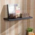 Vermont 24-inch Black Floating Shelf