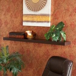 Tampa 48 inch Espresso Floating Shelf