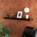 Tampa 36 inch Black Floating Shelf