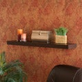 Upton Home Tampa 36-inch Espresso Floating Shelf