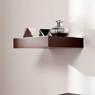 Upton Home Tampa 10-inch Espresso Floating Shelf