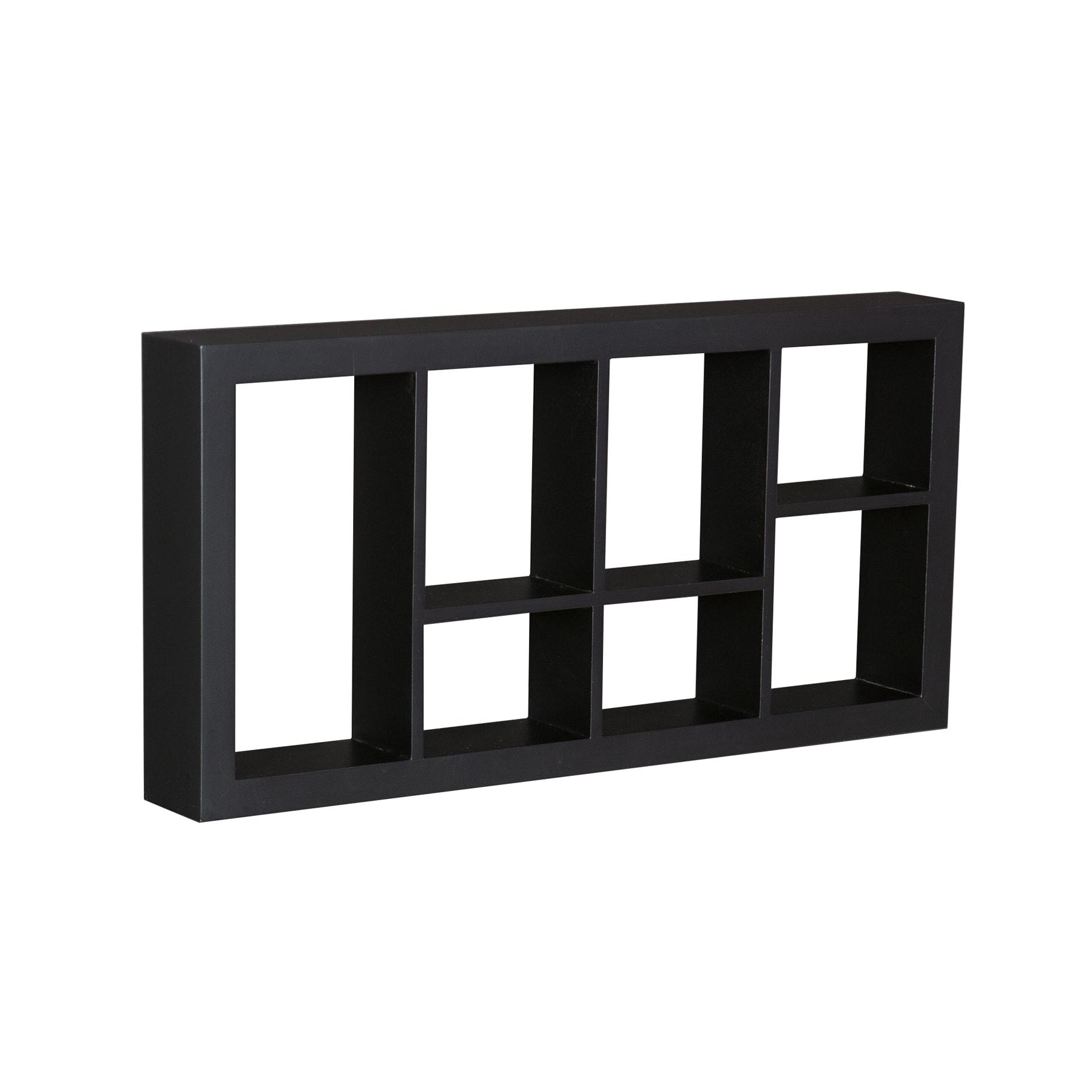 Upton Home The Felson Black 24-inch Display Shelf