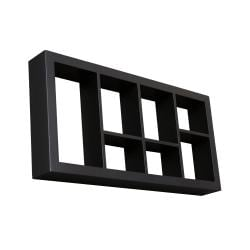 Upton Home The Felson Black 24-inch Display Shelf