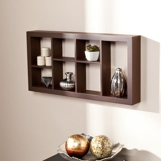 Upton Home The Felson Espresso 24-inch Display Shelf