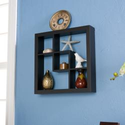 Upton Home Carrington Black Display Shelf