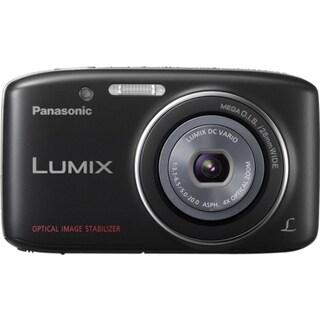 Panasonic Lumix DMC-S2 14.1 Megapixel Compact Camera - Black
