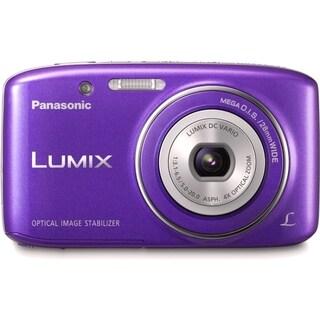 Panasonic Lumix DMC-S2 14.1 Megapixel Compact Camera - Violet