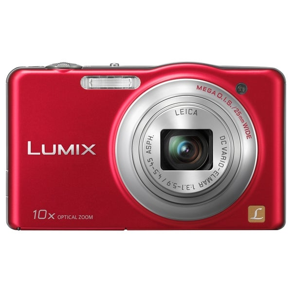 Panasonic Lumix DMC-SZ1 16.1 Megapixel Compact Camera - Red