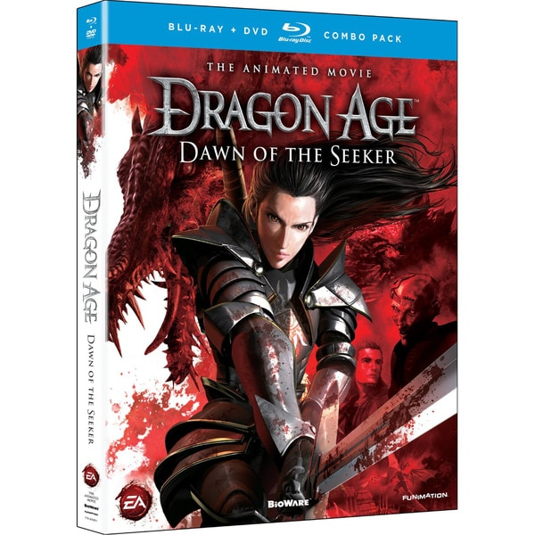 Dragon Age: Dawn of the Seeker Movie (Blu-ray/DVD) 8844214