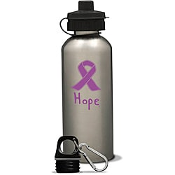 AffirmWater 17-oz Lavender 'I am Hope' Stainless Steel Water Bottle