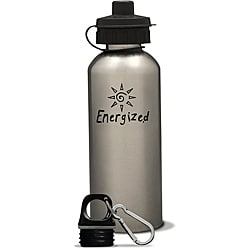 AffirmWater 17-oz 'I am Energized' Stainless Steel Water Bottle
