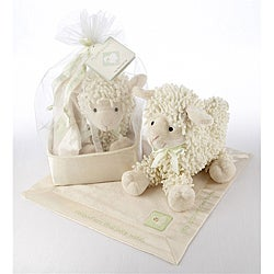 Baby Aspen 'Love Ewe' Plush Lovie Gift Set