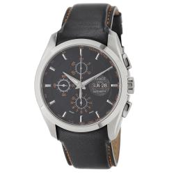 Tissot Men's T035.614.16.051.01 'Couturier' Black Dial Black Leather Strap Watch