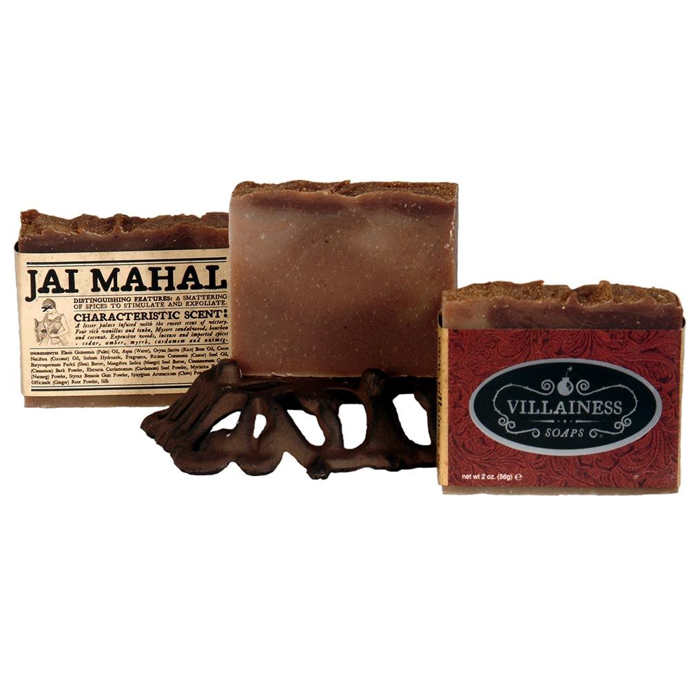 Villainess Soaps 'Jai Mahal' Body Soap