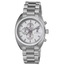 Emporio Armani Men's 'Sport' Silver Dial Stainless Steel Quartz Watch