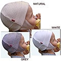 Dots on Tots 100 Percent Organic Cotton Baby and Toddler Ear Flap Hat with Soft Velcro Closure