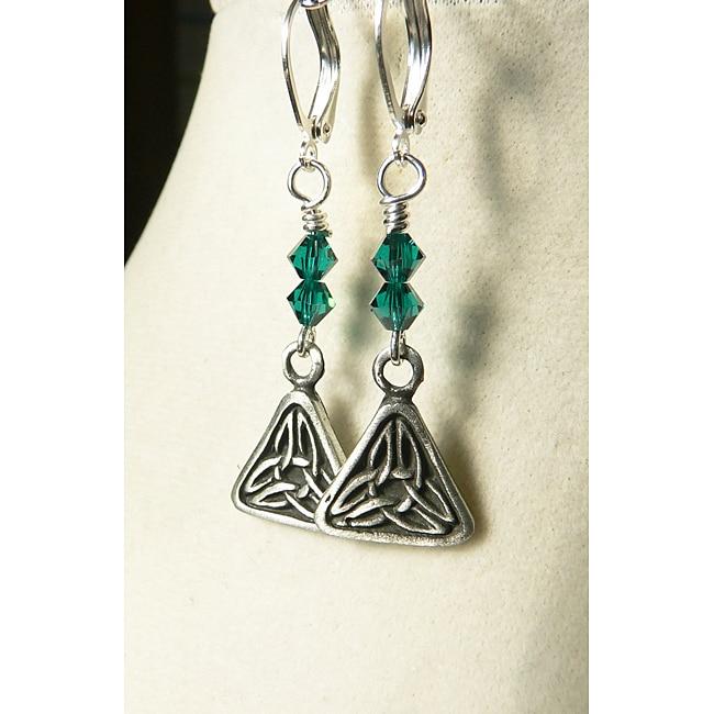 'Caitlin' Crystal Earrings