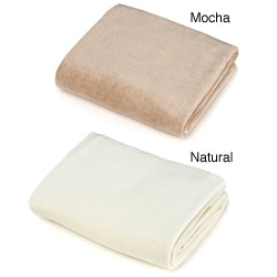 ABC Organic Velour Contoured Changing Table Cover