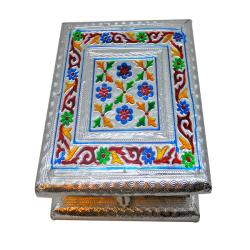 Small Meenakarri Jewelry Box (India)