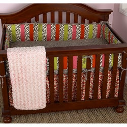 Cotton Tale Here Kitty Kitty 4-piece Crib Bedding Set