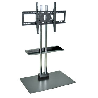 H. Wilson Universal LCD Flat Panel Stand with Shelf