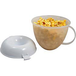 KitchenWorthy Microwave Popcorn Popper (Case of 12)