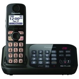 Panasonic KX-TG4741B DECT 6.0 1.90 GHz Cordless Phone - Black