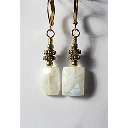 'Alexsis' Moonstone Earrings