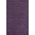 Hand-loomed Loft Stones Purple Wool Rug (5' x 8')