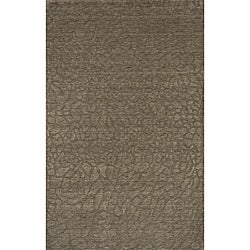 Hand-loomed Loft Stones Sage Wool Rug (5' x 8')
