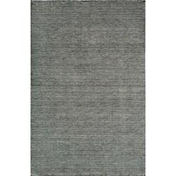 Hand-loomed Loft Gabbeh Grey Wool Rug (5' x 8')