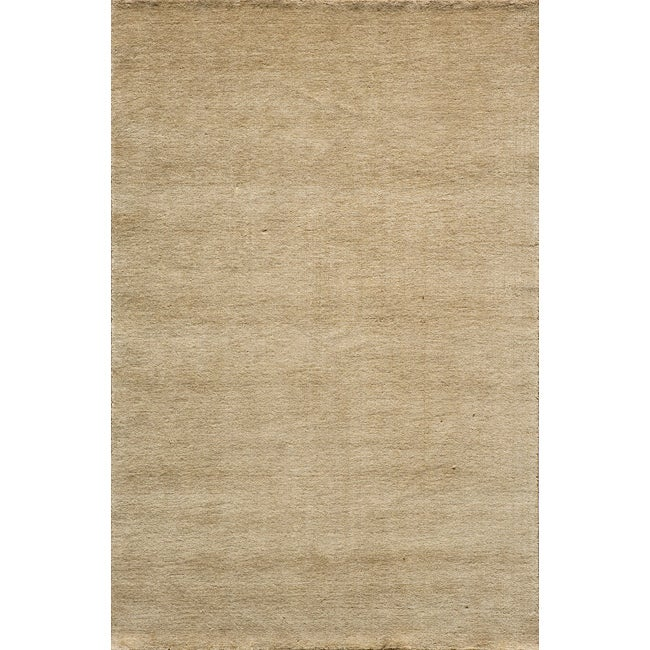 Loft Studio Wheat Hand-Loomed Wool Rug (5' X 8