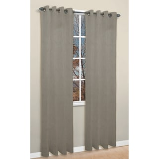 Tempo Grey 84-inch Curtan Panel Pair