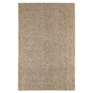Kodiak Buckskin Shag Beige Rug (5' x 8')
